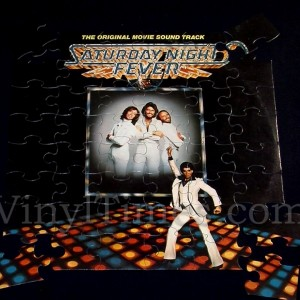 "Soundtrack ""Saturday Night Fever"" Album Cover Jigsaw ..."