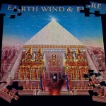 "Earth, Wind & Fire ""All In All"" Album Cover Jigsaw Puzzle front"