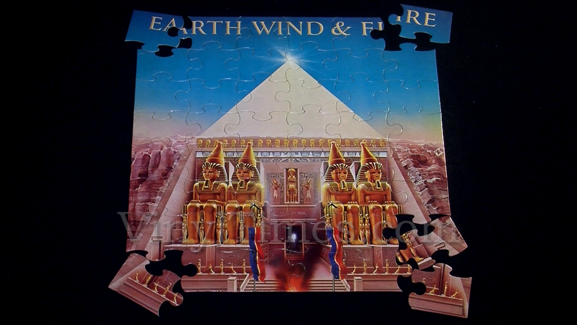 Earth Wind Amp Fire Quot All In All Quot Album Cover Jigsaw Puzzles