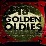 "Various Artists ""16 Golden Oldies"" Album Cover Jigsaw Puzzle back"