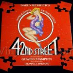"Broadway Cast ""42nd Street"" Album Cover Jigsaw Puzzle front"