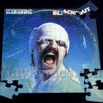 """Scorpions """"Blackout"""" Album Cover Jigsaw Puzzle"""