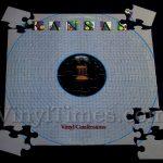 """Kansas """"Vinyl Confessions"""" Album Cover Jigsaw Puzzle"""