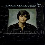"Donny Osmond ""Donald Clark Osmond"" Album Cover Jigsaw Puzzle"