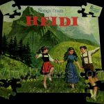 "Disney ""Heidi"" Album Cover Jigsaw Puzzle"