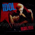 "Billy Idol ""Rebel Yell"" Album Cover Jigsaw Puzzle"