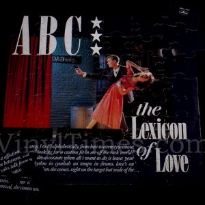 Abc Quot The Lexicon Of Love Quot Album Cover Jigsaw Puzzle