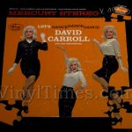 "David Carroll ""Let's Dance, Dance, Dance"" Album Cover Jigsaw Puzzle"