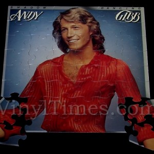 "Andy Gibb ""Shadow Dancing"" Album Cover Jigsaw Puzzle"