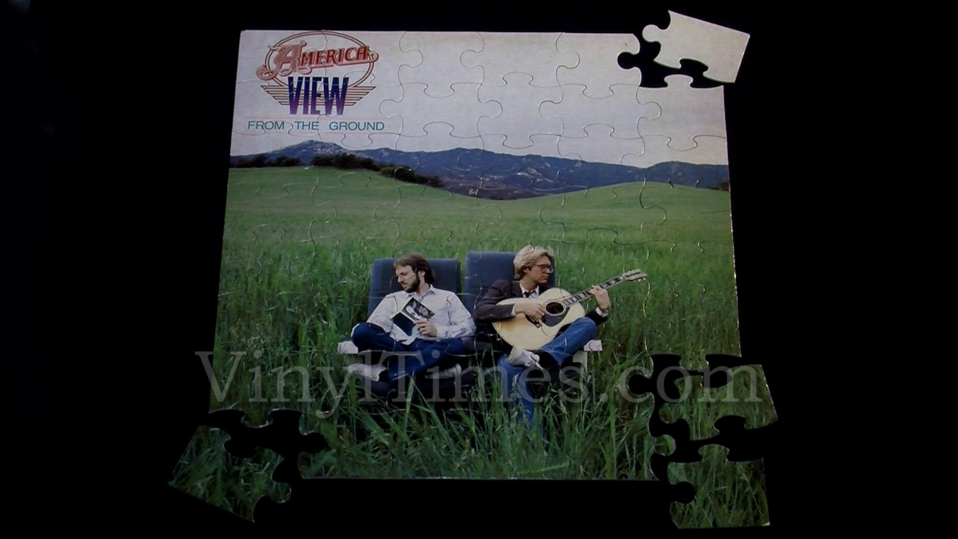 America Quot View From The Ground Quot Album Cover Jigsaw Puzzle