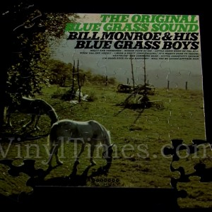 "Bill Monroe ""Original Bluegrass Sound"" Album Cover Jigsaw Puzzle"