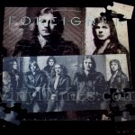 "Foreigner ""Double Vision"" Album Cover Jigsaw Puzzle"