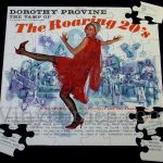 "Dorothy Provine ""Roaring Twenties"" Album Cover Jigsaw Puzzle"