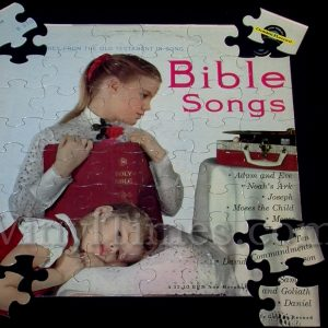 """Bible Songs"" Album Cover Jigsaw Puzzle"