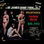 "Roland Shaw ""James Bond Thrillers"" Album Cover Jigsaw Puzzle"