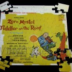 "Broadway Cast ""Fiddler On The Roof"" Album Cover Jigsaw Puzzle"