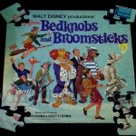 "Walt Disney ""Bedknobs & Broomsticks"" Album Cover Jigsaw Puzzle"