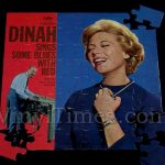 "Dinah ""Sings Some Blues"" Album Cover Jigsaw Puzzle"