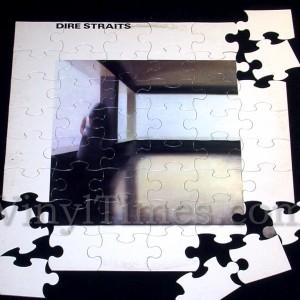 Dire Straits vinyl LP album Cover Jigsaw puzzle