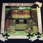 "Doobie Brothers ""The Best Of The Doobies"" Album Cover Jigsaw Puzzle Front"