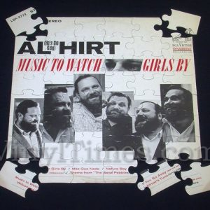 "Al Hirt ""Music To Watch Girls By"" Album Cover Jigsaw Puzzle"