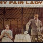 """My Fair Lady"" Vinyl LP Album Cover Mousepad"