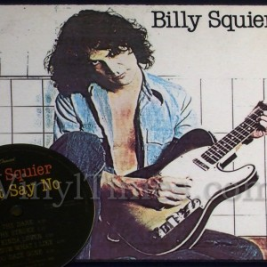 "Billy Squire ""Don't Say No"" Vinyl LP Album Cover Mousepad with matching Vinyl LP Beverage Coaster"