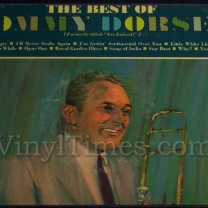 "Tommy Dorsey ""Best Of"" Vinyl LP Album Cover Mousepad"