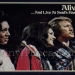 "Singing Rambos ""Alive!"" Vinyl LP Album Cover Mousepad with matching Vinyl LP Beverage Coaster"