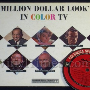 "Million Dollar Look"" Vinyl LP Album Cover Mousepad with matching Vinyl LP Beverage Coaster"