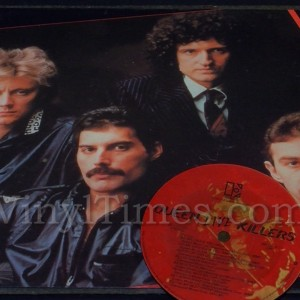 "Queen ""Live Killers"" Vinyl LP Album Cover Mousepad with matching Vinyl LP Beverage Coaster"