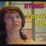 "Loretta Lynn ""Hymns"" Vinyl LP Album Cover Mousepad"