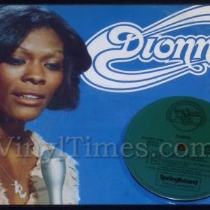 "Dionne Warwick ""Dionne"" Vinyl LP Album Cover Mousepad with matching Vinyl LP Beverage Coaster"