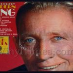 "Bing Crosby ""Thoroughly Modern"" Vinyl LP Album Cover Mousepad"