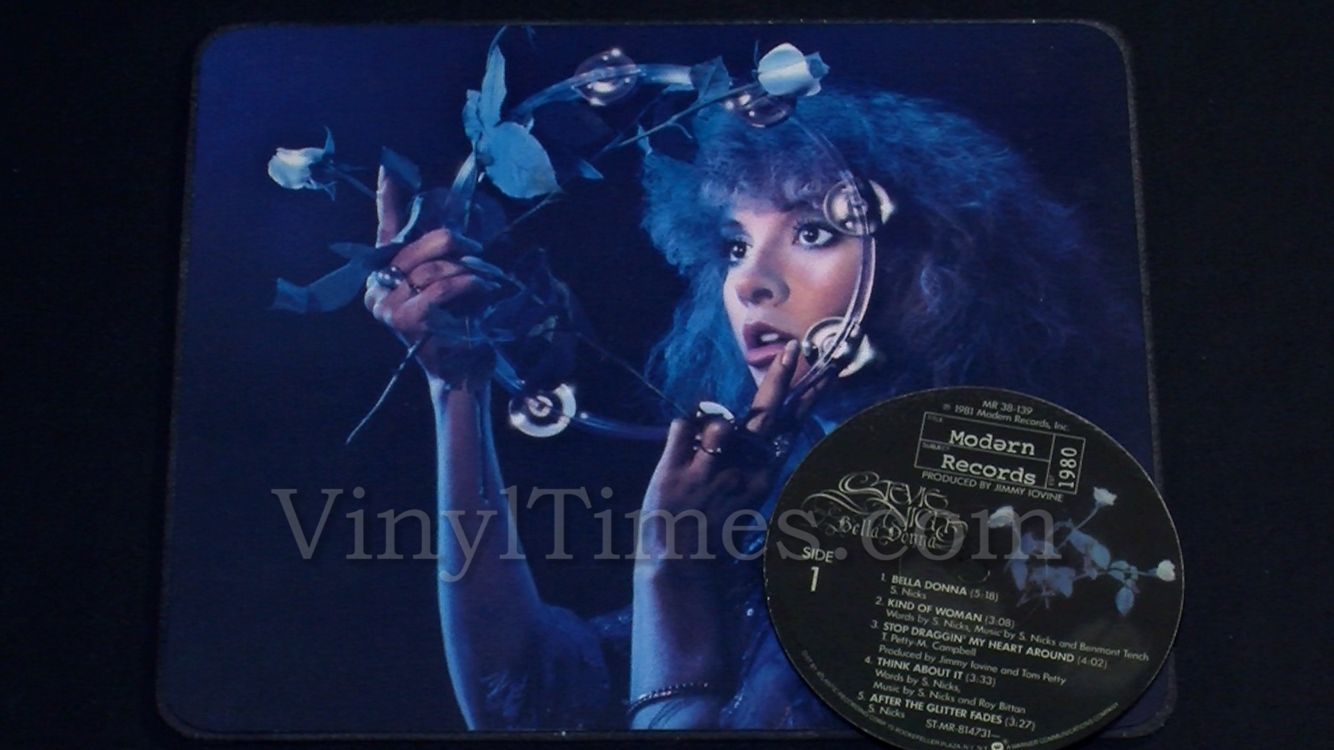 Stevie Nicks Album Cover Mouse Pad Quot Bella Donna