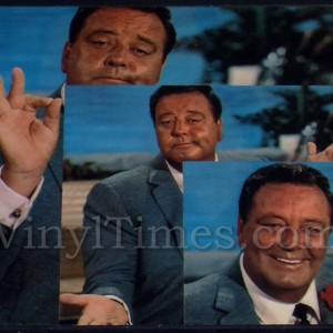 "Jackie Gleason ""Best Of"" Vinyl LP Album Cover Mousepad"
