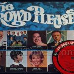 """The Crowd Pleasers"" Vinyl LP Album Cover Mousepad with Vinyl LP Beverage Coaster"