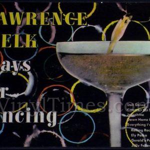 Lawrence Welk Vinyl LP Album Cover Mousepad