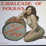 """Mischief Makers """"Cavalcade of Polkas"""" Vinyl LP Album COVER ONLY"""