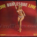 """Various Artists """"Live Burlesque Live"""" Vinyl LP Record Album"""