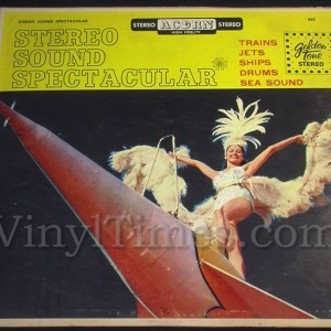 "Sound Effects ""Stereo Sound Spectacular"" Vinyl LP Record Album"
