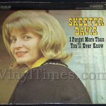 """Skeeter Davis """"I'll Forget More Than You'll Ever Know"""" Vinyl LP Record Album"""