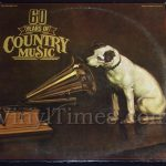 "Various Country Artists ""60 Years Of Country Music"" Vinyl LP Record Album"