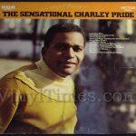 "Charley Pride ""The Sensational Charley Pride"" Vinyl LP Record Album"