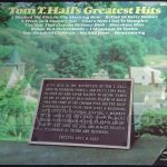 "Tom T. Hall ""Greatest Hits"" Vinyl LP Record Album"
