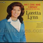 "Loretta Lynn ""Don't Come Home A Drinkin' (With lovin' On Your Mind) Vinyl LP Record Album"