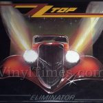 "ZZ Top ""Eliminator"" Vinyl LP Record Album"