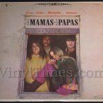 """Mamas & The Papas """"Cass.John.Michelle.Dennie"""" Vinyl LP Record Album"""
