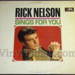 "Rick Nelson ""Sings For You"" Vinyl LP Record Album"