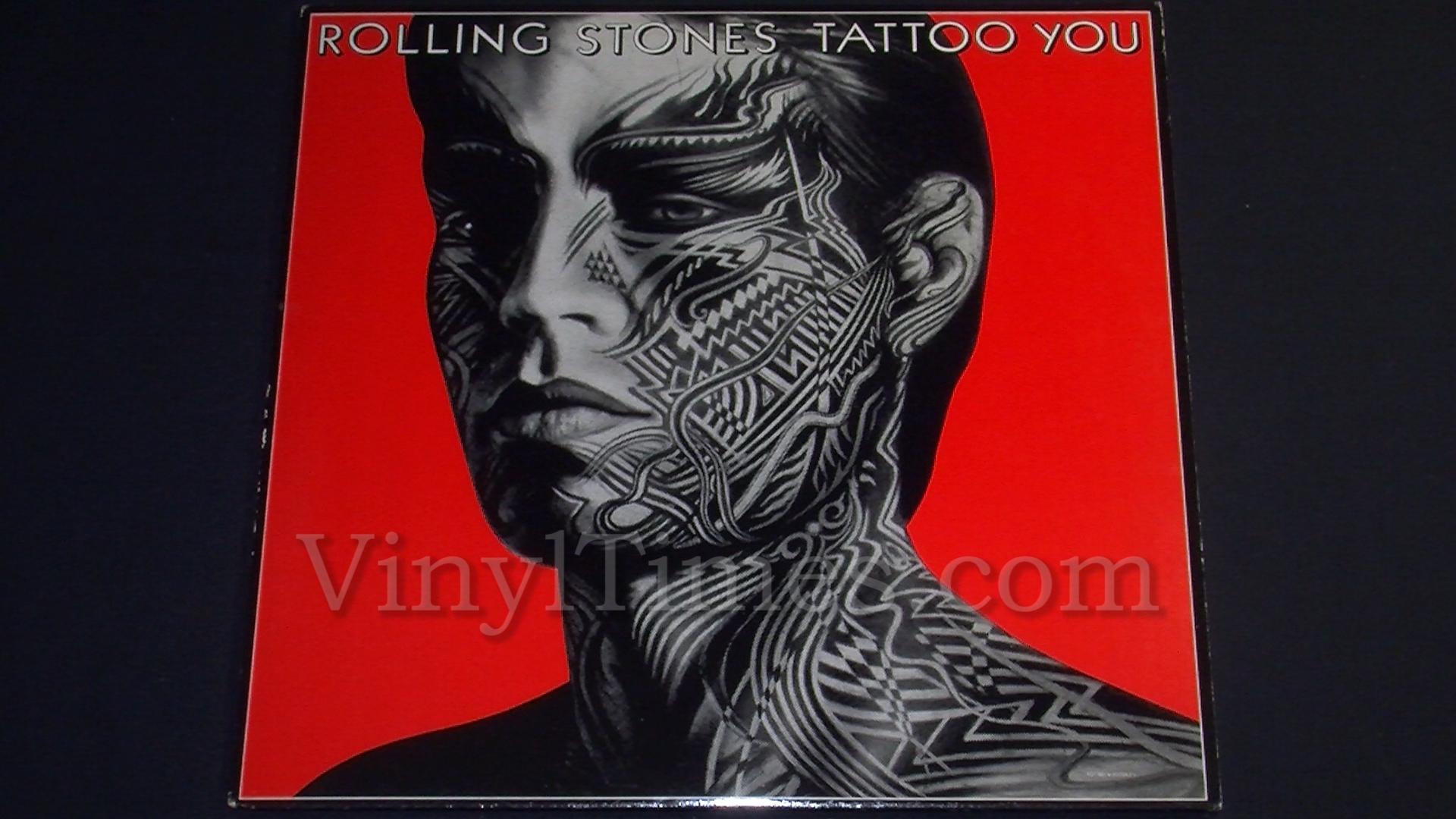 rolling tattoo stones vinyl lp album record records